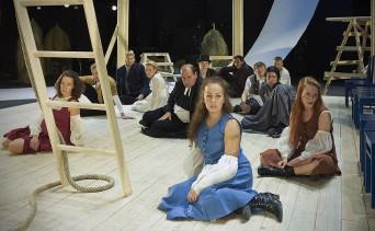 Viisas neitsyt / Lahden kaupunginteatteri, 2009, kuva: Johannes Wilenius